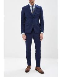 Темно-синий костюм от Brinardelli