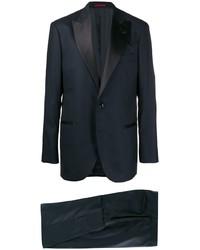 Темно-синий костюм от Brunello Cucinelli