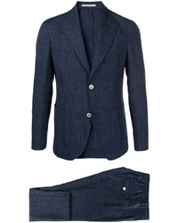Темно-синий костюм от Eleventy