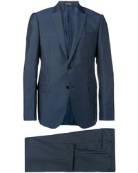 Темно-синий костюм от Emporio Armani