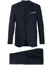 Темно-синий костюм от Neil Barrett