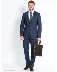 Мужской темно-синий костюм от VINCHI