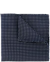 Мужской темно-синий нагрудный платок в горошек от DSQUARED2
