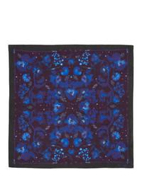 Темно-синий нагрудный платок с принтом от Paul Smith