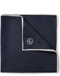 Темно-синий нагрудный платок от Kingsman