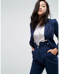 Женский темно-синий пиджак от Asos