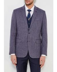 Мужской темно-синий пиджак от Bazioni