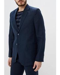 Мужской темно-синий пиджак от Berkytt