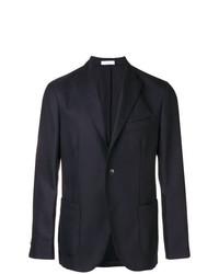 Мужской темно-синий пиджак от Boglioli