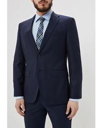 Мужской темно-синий пиджак от BOSS HUGO BOSS