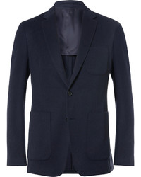 Мужской темно-синий пиджак от Burberry