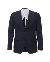 Мужской темно-синий пиджак от Celio