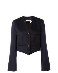 Женский темно-синий пиджак от Chloé