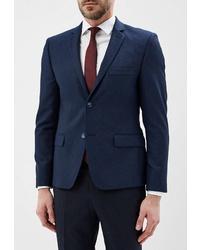 Мужской темно-синий пиджак от Daniel Diaz