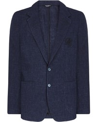Мужской темно-синий пиджак от Dolce & Gabbana