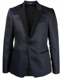 Мужской темно-синий пиджак от Emporio Armani