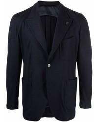 Мужской темно-синий пиджак от Gabriele Pasini