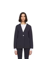 Женский темно-синий пиджак от Gauge81