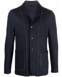 Мужской темно-синий пиджак от Giorgio Armani