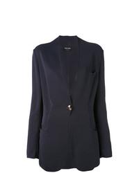 Женский темно-синий пиджак от Giorgio Armani Vintage