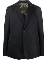 Мужской темно-синий пиджак от Golden Goose