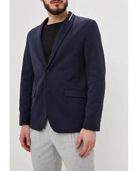 Мужской темно-синий пиджак от Hugo Hugo Boss