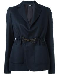 Женский темно-синий пиджак от Jil Sander Navy