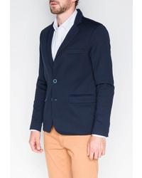 Мужской темно-синий пиджак от OMBRE