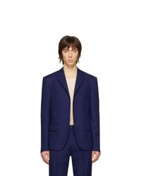 Мужской темно-синий пиджак от Random Identities