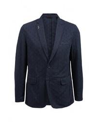 Мужской темно-синий пиджак от s.Oliver