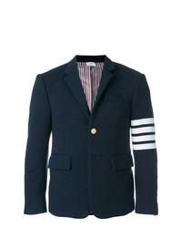 Мужской темно-синий пиджак от Thom Browne