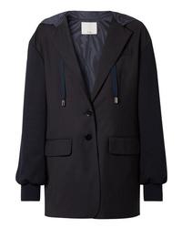 Женский темно-синий пиджак от Tibi