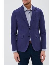 Мужской темно-синий пиджак от Tommy Hilfiger Tailored