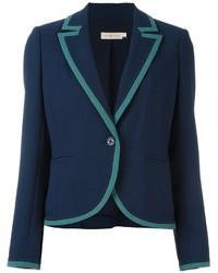 Женский темно-синий пиджак от Tory Burch