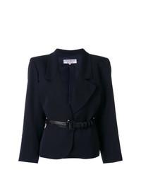 Женский темно-синий пиджак от Yves Saint Laurent Vintage