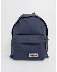 Мужской темно-синий рюкзак из плотной ткани от Eastpak