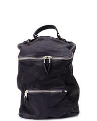 Мужской темно-синий рюкзак из плотной ткани от Giorgio Brato