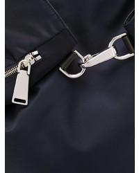 Мужской темно-синий рюкзак из плотной ткани от Jil Sander