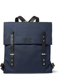 Мужской темно-синий рюкзак из плотной ткани от Miansai