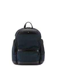 Мужской темно-синий рюкзак из плотной ткани от Montblanc