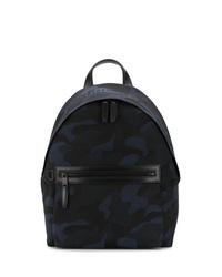 Мужской темно-синий рюкзак из плотной ткани от Mulberry