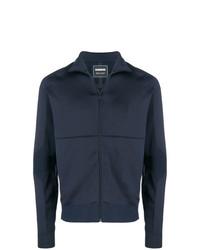 Мужской темно-синий свитер на молнии от Napapijri