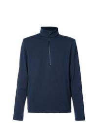 Мужской темно-синий свитер с воротником на молнии от Aztech Mountain