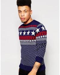 свитер с круглым вырезом medium 342520