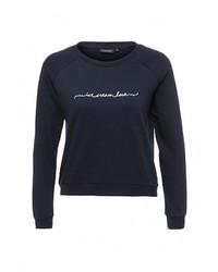 Женский темно-синий свитер с круглым вырезом от Broadway