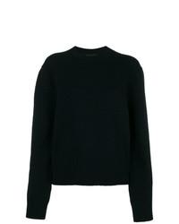 Женский темно-синий свитер с круглым вырезом от Calvin Klein 205W39nyc