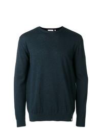 Мужской темно-синий свитер с круглым вырезом от Carhartt