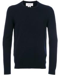 Мужской темно-синий свитер с круглым вырезом от Pringle