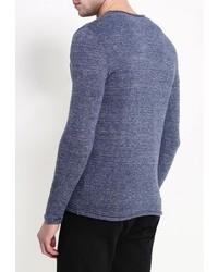 Мужской темно-синий свитер с круглым вырезом от Selected Homme