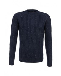 Мужской темно-синий свитер с круглым вырезом от SPRINGFIELD